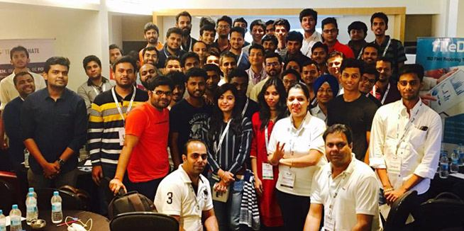 BlogX Tech Series Meet by Techmagnate