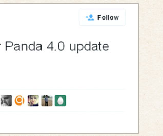 Google is rolling out our Panda 4.0 update starting today.