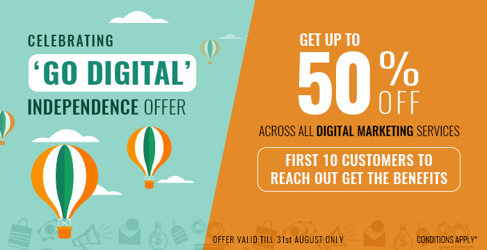 CELEBRATING INDEPENDENCE MONTH WITH THE 'GO DIGITAL' OFFER